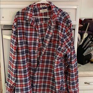 Hawker rye men's plaid shirt